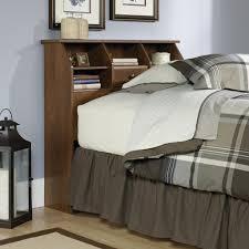 Bedroom Set In Salt Oak Sauder Carson Forge Headboard Twin Shoal Creek Oiled Oak