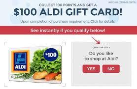 scam free aldi 100 coupons scam