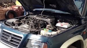 suzuki jeep 1990 motor suzuki vitara 2 0 turbo diesel 1998 com 106 mil kms youtube