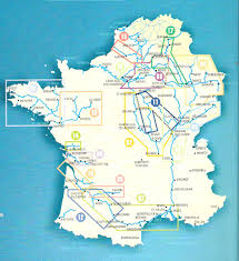 Marseilles France Map by French Canals Map France U2022 Mappery