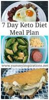 7 day keto diet meal plan for weight loss low carb ketogenic