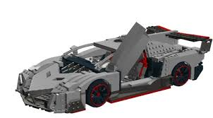 lego lamborghini car lamborghini veneno a lego creation by smokie smoke mocpages com
