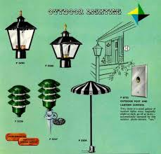 retro outdoor light fixtures 41 midcentury lighting ideas post lanterns l posts wall