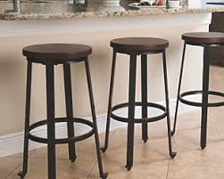 29 Inch Bar Stools With Back Bar Stools Ashley Furniture Homestore