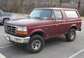 bronco car 1996 file 92 96 ford bronco jpg wikimedia commons