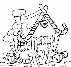 get this kids u0027 printable gingerbread house coloring pages free