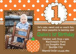 printable birthday invitations little boys pumpkin party invites