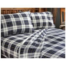 Tartan Flannelette Duvet Cover Interior Flannel Comforter Sets Flannel Comforter Cover Queen