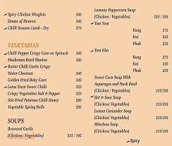 asia kitchen menu menu of asia kitchen sector 63 delhi dineout discovery