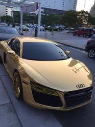 audi car wheels black friday amazon audi r8 wrapped in rose gold chrome and wheels powder coated in