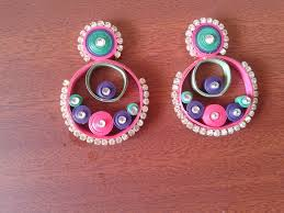 paper ear rings 44 earrings with quilling paper quilling paper earrings designs