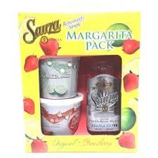 margarita gift set sauza silver tequila gift set 750 northlake wine liquor