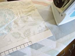 Lined Curtains Our Nesting Ground Lined Curtain Panels And Tie Back Tutorial