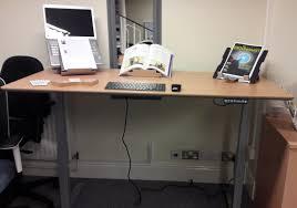 Height Adjustable Desks Uk by Sit Stand Height Adjustable Desk Range Total Back Care Blog