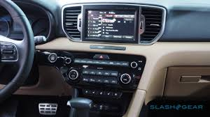 kia sportage 2017 interior 2017 kia sportage debuts uvo3 with android and iphone support