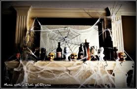 Fireplace Mantel Decoration by Ideas Spooky Mantel Design Ideas With Halloween Theme To Make