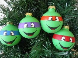 bright idea mutant turtles ornaments