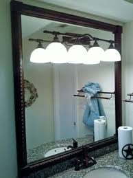 bathroom mirrors decor ideas below recessed dull ceiling beach to