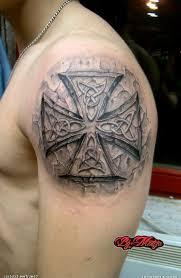 german iron cross tattoos design idea