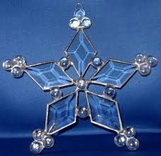172 best snowflakes images on stained glass