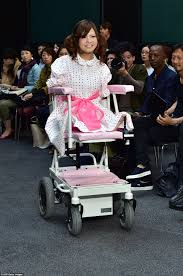 Japanese Designer by Disabled Models Take To The Catwalk In Wheelchairs In Tokyo