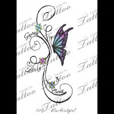butterfly with names custom concept 1 22343