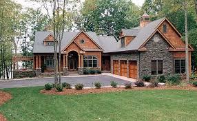 hillside house plans craftsman style hillside house plan family home plans