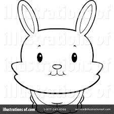 rabbit clipart 1156478 illustration by cory thoman