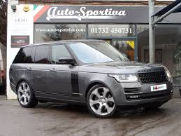 land rover car 2014 used 2014 land rover range rover sdv8 vogue se huge specification