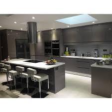 kitchen cabinet design qatar tip on modern anti scratch grey acrylic kitchen cabinet designs view acrylic kitchen cabinet lingyin product details from guangzhou lingyin