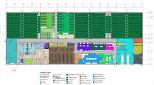 Data Center Floor Plan by Enterprise User Gro Facility Agrobuild