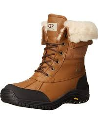 ugg s adirondack ii leather apres ski boots savings on ugg s adirondack ii winter boot otter 10 b us