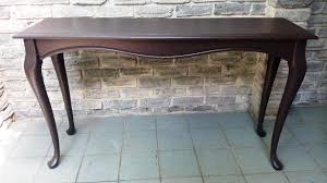 Wood Entry Table Solid Wood Console Table With Drawers Console Table A Secret