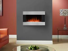 fireplace u0026 accessories wall mounted gas fireplace dark grey