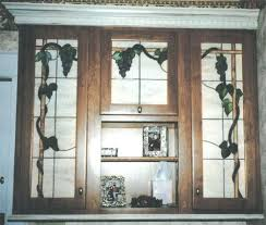 Best Cabinet Doors Images On Pinterest Leaded Glass Cabinet - Leaded glass kitchen cabinets