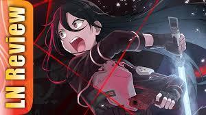 Sword Art Online Light Novel Review Sword Art Online Gun Gale Online Light Novel Youtube