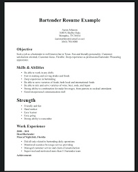 free bartender resume templates free bartender resume templates cover letter for fresh sles