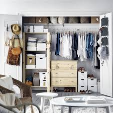 Chambre A Coucher Pas Cher Ikea by Dressing Ikea Marie Claire
