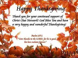 thanksgiving blessings from ccnetwork 2010
