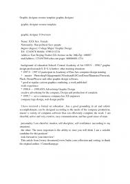 Designed Resumes Creative Arts And Graphic Design Resume Examples In Example Of 19