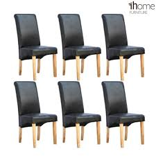 Italian Leather Dining Chairs Furniture Table And Chair Set 4 Chair High Table Italian