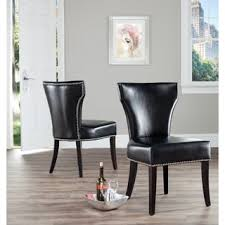 Plush Dining Room Chairs Sumptuous Black Leather Dining Room Chairs All Dining Room