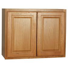 assembled 12x30x12 in wall kitchen cabinet in unfinished oak