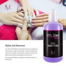 mylee premium salon nail gel polish prep wipe removing cleanser