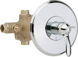 Chicago Faucet Kitchen 31 Delta High Flow Shower Valve Delta Cassidy Stainless 1 Handle