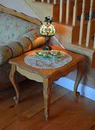 What To Put On End Tables by My Christmas Home Tour 2013