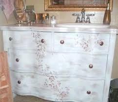 Dresser Turned Bathroom Vanity Old Dresser Bathroom Vanity U2013 Selected Jewels Info