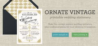 wedding stationery vintage printable wedding stationery collection