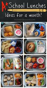 a month of kid approved lunches u2013 easy u0026 creative ideas