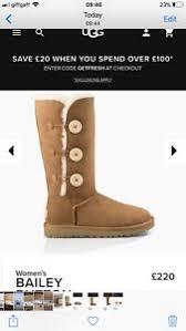 s genuine ugg boots genuine ugg boots chestnut triplet bailey button